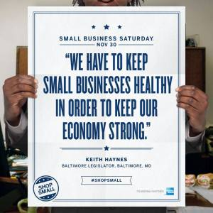 Small business is the heart of America. Let's do our best to keep them around forever!