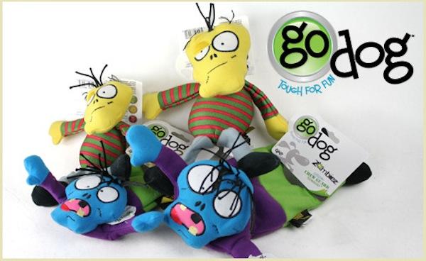 GoDog Zombie Toys!