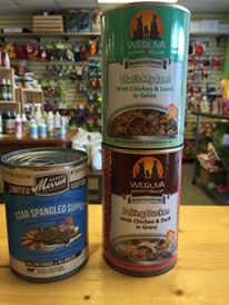 New flavors of dog cans, including some from Weruva - the only American canned food company licensed to sell in Europe!